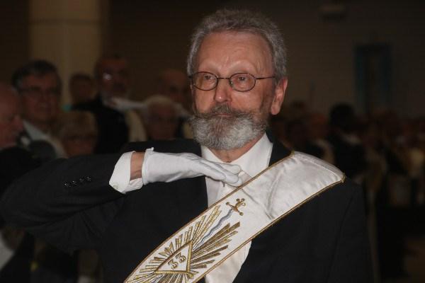 Daniel Bolens, nuevo Gran Maestre de Le Droit Humain