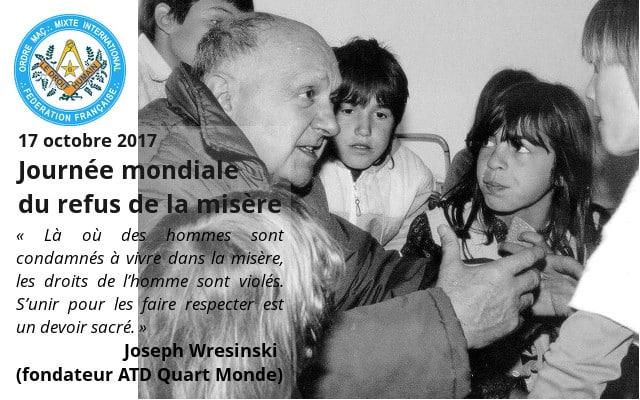 Día mundial contra la miseria 2017